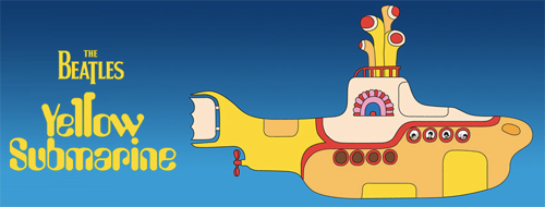 Yellow submarine il libro dei beatles è disponibile in